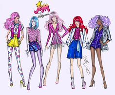 Jem and The Holograms by Hayden Williams