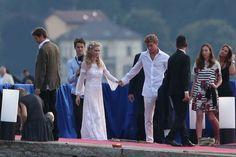 Beatrice Borromeo Marries Pierre Casiraghi in a Custom Armani Wedding Dress