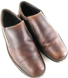 Johnston Murphy Men Loafer Shoes Size 9.5 M Brown Style 250662.  CAC 5 #JohnstonMurphy #LoafersSlipOns #Casual