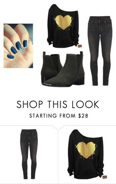 """Ember's outfit #4"" by otaku1236 ❤ liked on Polyvore featuring Citizens of Humanity and Marc Fisher LTD"
