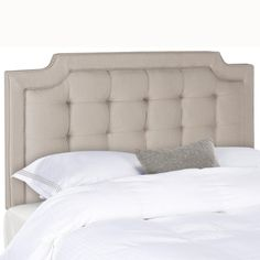 The crown jewel of the Upper East Side, the redesign of Manhattan's most elite stay inspired this contemporary headboard. It's chic tufting creates an expanse of modern luxury coveted by those who tre