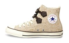 Chuck Taylor All Stars in Duffle Coat trim are part of Converse Japan.