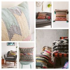 Lar-a. Cushions Urban Outfitters.