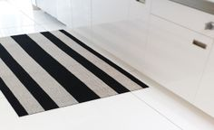 Chilewich Utility Floor Mat - Wide Stripe