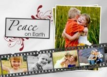 Film Strip Holiday Photo Cards