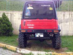 Suzuki Samurai -- Custom rear bumper