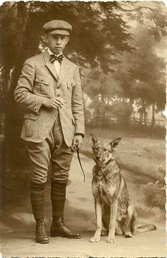 a nifty tweed walking suit ca. 1910-1915