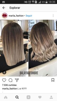 What Is Balayage? Here Are the Facts About the Hair Color Perfect for Summer What Is Balayage? Cabelo Ombre Hair, Pinterest Hair, Hair Color Balayage, Hair Colour, Hair 2018, Gorgeous Hair, Hair Looks, New Hair, Blonde Hair