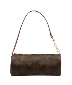 Louis Vuitton Mini Papillion Monogram Coated Canvas Pochette   Cash In My  Bag 5b615e443a
