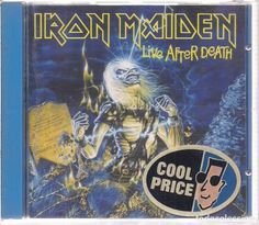 CD - IRON MAIDEN - LIVE AFTER DEATH - EMI - 1985, ENCARTE INCLUIDO