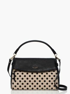 cobble hill canvas dot little minka / kate spade