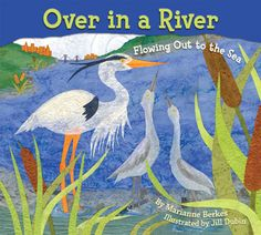 """The great rivers of North America are teeming with life and on the pages of Over in a River—from blue herons in the Hudson to salmon in the Columbia, and from dragonflies in the Rio Grande to mallards in the St. Lawrence. Children will """"slither"""" like water snakes and """"slide"""" like otters while singing to the tune of """"Over in a Meadow."""" And they'll count baby animals in watersheds all over North America! What a delightful way to learn about riparian habitats and geography at the same time!"""
