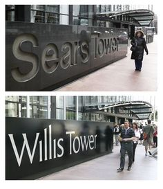 Chicago, IL ~ It was called the SEARS Tower when it opened in 1973 and was renamed Willis Tower on July 16, 2009.