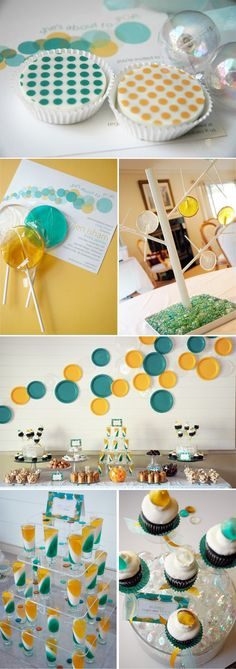 This is so pretty! Just wanted to remember in case someone ever needs me to host a baby shower :)