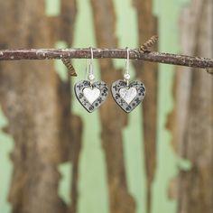 Cross My Heart Earrings - Anju Jewelry
