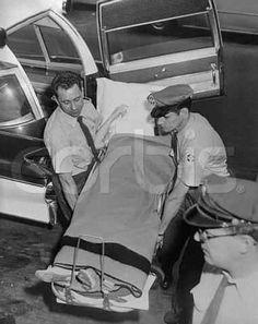 June 1961, entering hospital before gallbladder surgery
