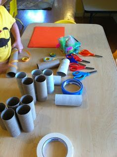 Beansprouts Preschool Blog: Telescopes!!!