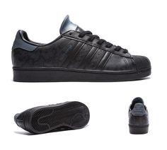 adidas Originals Superstar Camo 15 Trainer | Black / Onix | Footasylum