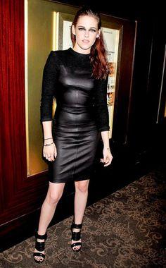 Kristen Stewart in a dress by A.L.C.