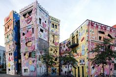Happy Rizzi Haus, Braunschweig, Germany | The Most Colorful Cities in the World Photos | Architectural Digest