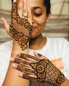 Floral Henna Designs, Stylish Mehndi Designs, Latest Bridal Mehndi Designs, Full Hand Mehndi Designs, Mehndi Designs 2018, Mehndi Designs For Girls, Mehndi Designs For Beginners, Wedding Mehndi Designs, Beautiful Henna Designs