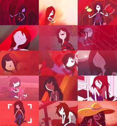 Marceline + Red (Adventure Time)