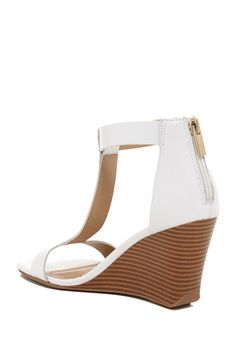 Ava Gave T-Strap Wedge
