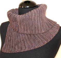 PATTERN  Cowl Neckwarmer Easy Knitting Pattern by AbsoluteKnits, $5.00