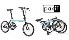 Bike Friday's new pakiT city bikes start at 14.9 lbs and fold up into a backpack