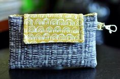 Cellphone Case by My 1/2 Dozen Daily using Annali fabric from Warp  Weft