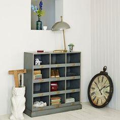 The Zoe Storage Rack - Storage - Furniture Hallway Furniture, Find Furniture, Vintage Furniture, Wall Mounted Shoe Rack, Coffee Room, Vintage Storage, Storage Rack, Shoe Storage, Interior Inspiration