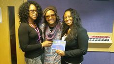Assistant Producer and Presenter of The Wassifa Caribbean Show with Maxi Priest in his onesie.