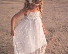 Vestido de la muchacha de flor vestidos de niña de las
