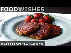 """If you Google, """"Scottish Oatcakes,"""" you'll see lots of pictures of what looks like thick, dense, pressed oatmeal cookies, which is the mos..."""
