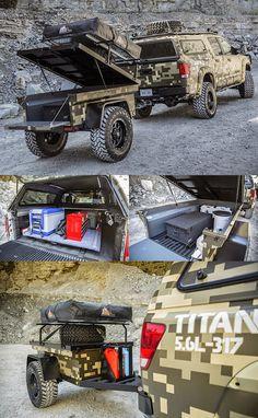 «Ниссан» подготовил «армейский» пикап Titan - Новости - Motor