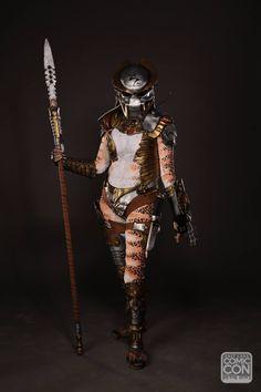 Predator cosplay at Salt Lake Comic Con 2015