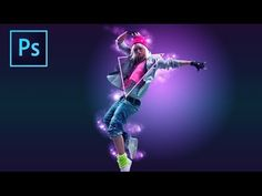 In this Photoshop tutorial you will learn how to create a colorful abstract lighting image. Using, adjustment layers, blending modes, downloadable Photoshop ...
