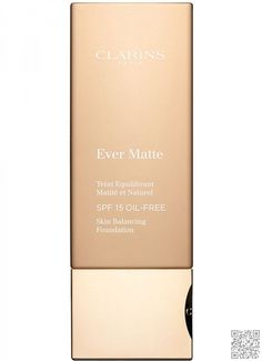 Clarins Ever Matte #Oil-free Foundation