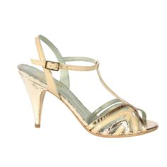 Jay - Nude and gold faux snakeskin Beyond Skin