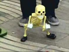 Dance you quirky little skeleton!