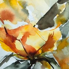 Малый момент № 322 - Картина, 10х10 см © 2015 Вероник Piaser-Ближний - Живопись