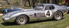 "Shelby 427 Daytona Coupé Continuation ""Secret Weapon"", 2018. Mustang Cobra, Ac Cobra, Mustang Fastback, Ford Mustang, Ford Gt40, Shelby Daytona, Shelby Gt, Chevrolet Trucks, Chevrolet Impala"