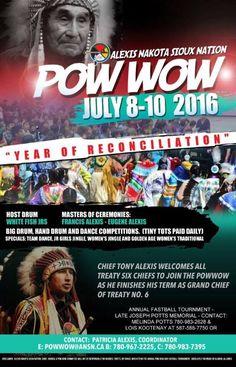 "Alexis Nakota Siuox Nation Pow wow ""Years Of Reconciliation"""