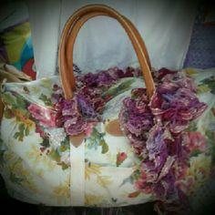 Weekender Bag Large Floral 2Chillies Bags Travel Bags