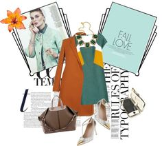 """""""earth fall chic"""" by thalia-kallia ❤ liked on Polyvore"""