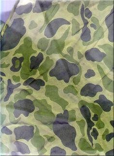 united states Parachute camouflage 1943-1974