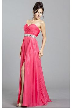 Cheap Long Lace-up Natural A-line Sweetheart Prom Dresses Strapless Prom Dresses, Sweetheart Prom Dress, Designer Prom Dresses, Chiffon Dress, Lace Up, Formal Dresses, Elegant, Wedding, Natural