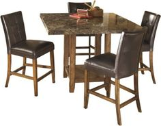 Shop The Lacey Counter Height Dining Room Table From Our Wide Kitchen And Selection Online Available In Medium Brown