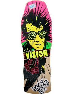 Vision PSYCHO STICK retro 80's skateboard.