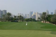 Emirates #Golf Club - Majlis Course. A true golfing oasis in the Dubai desert.